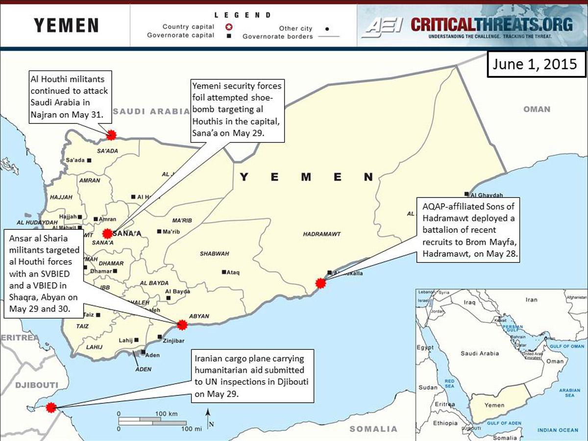 2015 Yemen Crisis Situation Report: June 1 | Critical Threats