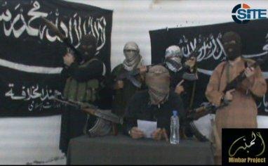 Al Zahir Baibars Battalion members of Jund al Khilafah (SITE Intelligence Group)width=