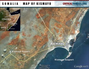 Map of Kismayo