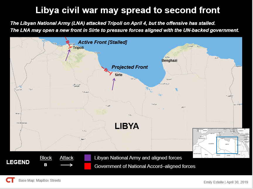 The Libyan Civil War Is Spreading And Attracting Salafi