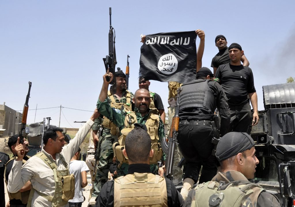 Iraqi security clashes with a branch of ISIS